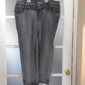 PLUS SIZE Grey Jeans